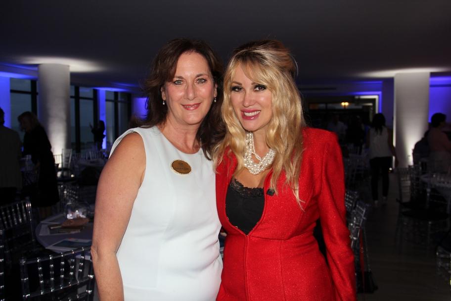 Claudia Lewis and Patricia Delinois