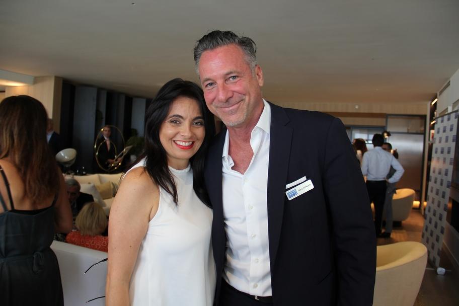 Lera Pinneri and Gary Schwartz
